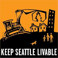 """""""Keep Seattle Livable"""" logo"""