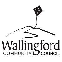 "Wallingford Community Council ""Kite Hill"" logo"