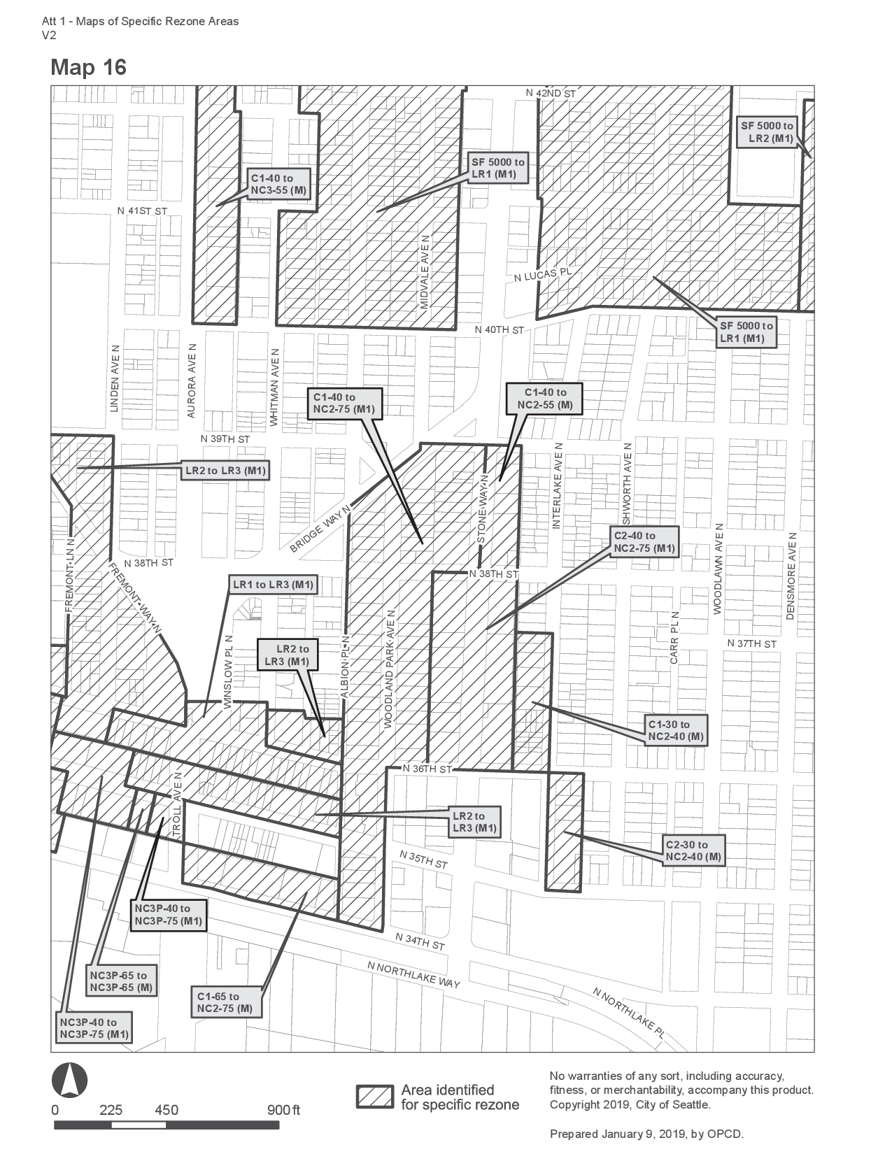 MHA Zoning Changes for Wallingford Urban Village, Map 16